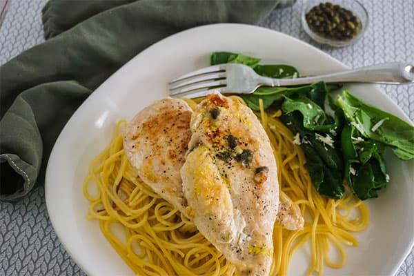 Homemade Chicken Piccata